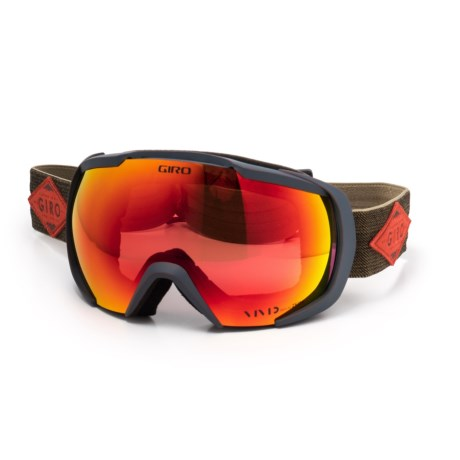 Giro Onset Ski Goggles in Turbulence/Rust Mountain Division/Vivid Ember