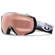 Giro Onset Snowsport Goggles in Black Emulsion/Rose Silver - Closeouts