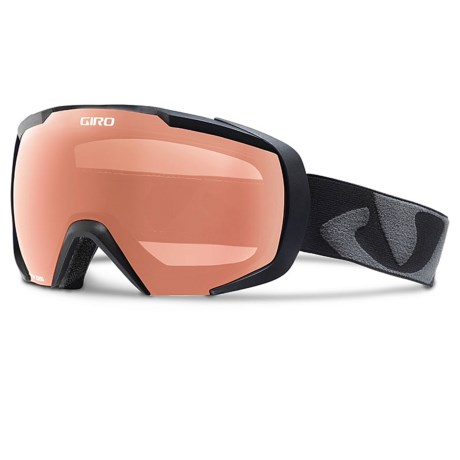 Giro Onset Snowsport Goggles in Black Icon/Rose Silver