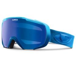 Giro Onset Snowsport Goggles in Matte Blue Saturate/Grey Cobalt
