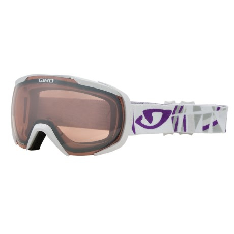 Giro Onset Snowsport Goggles in White Tik/Rose Silver 30