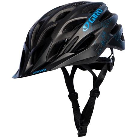 Giro Phase Cycling Helmet  (For Men and Women) in Matte Black/Blue Blockade