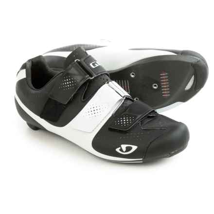 Giro Prolight SLX II Road Cycling Shoes - 3-Hole (For Men) in Black/Gloss White - Closeouts