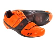 Giro Prolight SLX II Road Cycling Shoes - 3-Hole (For Men) in Fluorescent Orange/Black - Closeouts