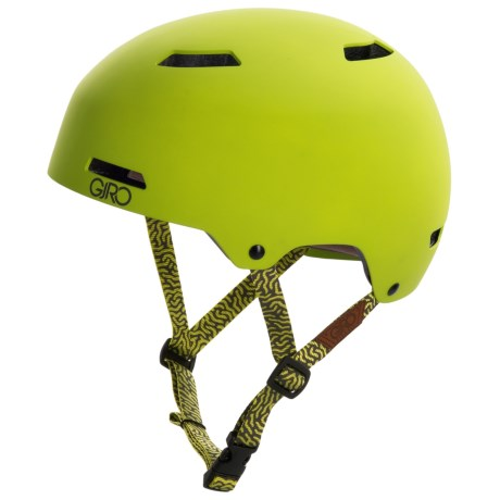 Giro Quarter Cycling Helmet (For Men and Women) in Matte Lime/Moutain Division