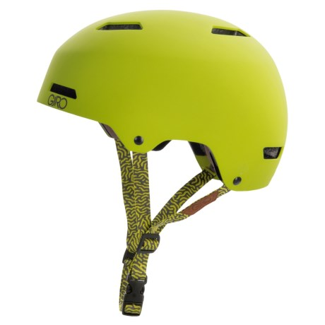 Giro Quarter MIPS Cycling Helmet (For Men and Women) in Matte Lime/Moutain Division