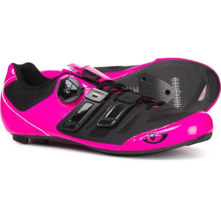 799e42d4008 Giro Raes Techlace Cycling Shoes - 3-Hole (For Women) in Bright Pink