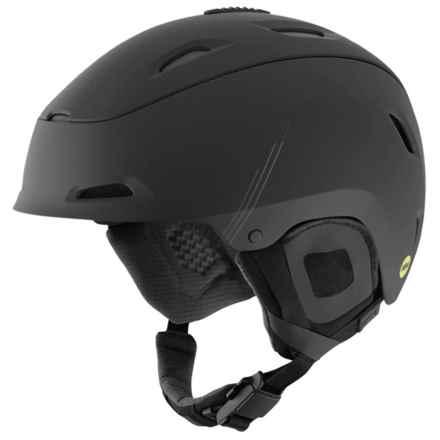 Giro Range Snowsport Helmet - MIPS in Matte Black Fabricator - Closeouts
