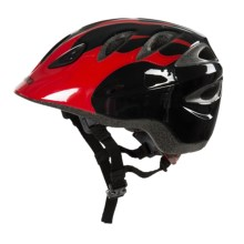 Giro Rascal Bike Helmet (For Kids and Youth) in Red/Black Flames - Closeouts