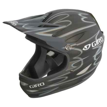 Giro Remedy Carbon Fiber Full-Face Helmet - Snowsport in Matte Black/Carbon - Closeouts