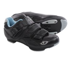 Giro Reveille Cycling Shoes - SPD (For Women) in Black/Milky Blue - Closeouts