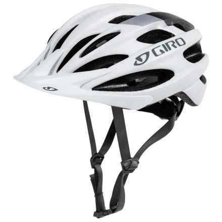 Giro Revel Bike Helmet (For Men and Women) in Matte White/Silver - Closeouts