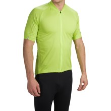 Giro Ride LT Cycling Jersey - Full Zip, Short Sleeve (For Men) in Wild Lime - Closeouts