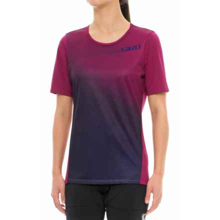 Giro Roust Cycling Jersey - UPF 20+, Short Sleeve (For Women) in Berry Fade - Closeouts