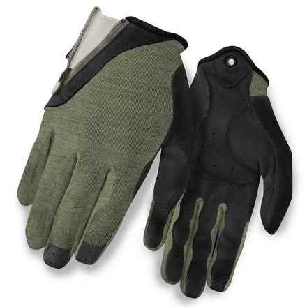 Giro Rulla Mountain Bike Gloves (For Women) in Mil Spec Olive/Sea Glass - Closeouts