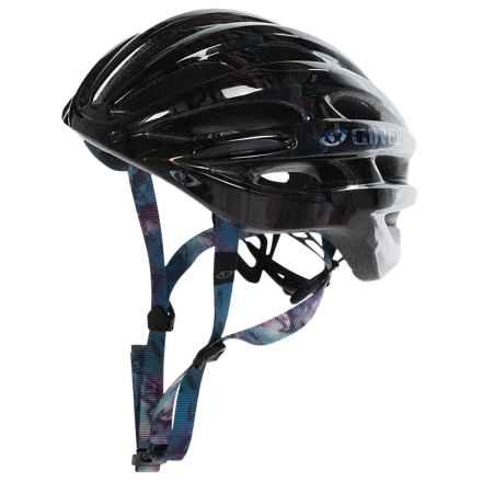 Giro Saga Cycling Helmet (For Women) in Black Galaxy - Closeouts