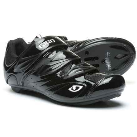 Giro Sante II Road Cycling Shoes - Universal Mount (For Women) in Black/White - Closeouts