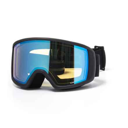 Giro Scan Ski Goggles - Asia Fit in Black Wordmark/Yel Boost - Closeouts