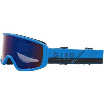 Giro Scan Ski Goggles in Blue/Black/Slash/Grey Cobalt - Closeouts