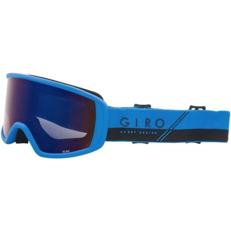Giro Scan Ski Goggles in Blue/Black/Slash/Grey Cobalt