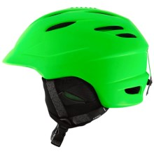 Giro Seam Ski Helmet in Matte Bright Green - Closeouts