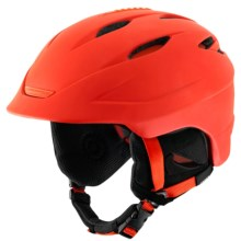 Giro Seam Ski Helmet in Matte Glowing Red - Closeouts
