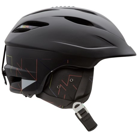 Giro Seam Snowsport Helmet in Matte Black Lazer Tag