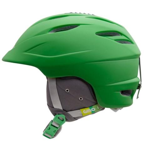Giro Seam Snowsport Helmet in Matte Green