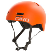 Giro Section Skate Style Bike Helmet (For Men and Women) in Matte Flame - Closeouts