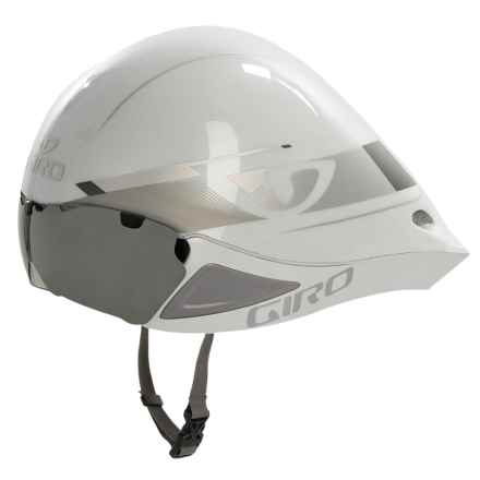 Giro Selector Bike Helmet (For Men and Women) in White/Silver - Closeouts