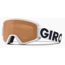 Giro Semi Ski Goggles in White Futura/Ar40 - Closeouts