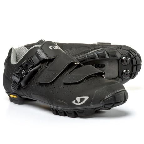 Giro Sica VR70 Mountain Bike Shoes - SPD (For Women) in Matte Black