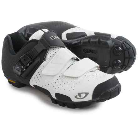Giro Sica VR70 Mountain Bike Shoes - SPD (For Women) in White/Matte Black - Closeouts
