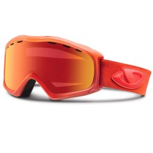 Giro Signal Flash Snowsport Goggles in Glow Red Saturate/Amber Scarlet - Closeouts