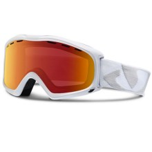 Giro Signal Flash Snowsport Goggles in White Icon/Amber Scarlet - Closeouts