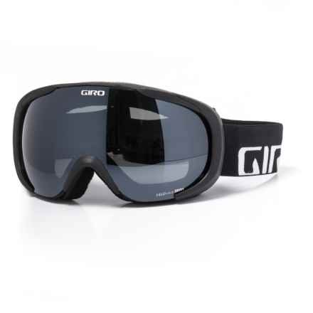 ed4f6892f7dc Giro Ski Goggles (For Women) in Black Wordmark  Ultra Black - Closeouts