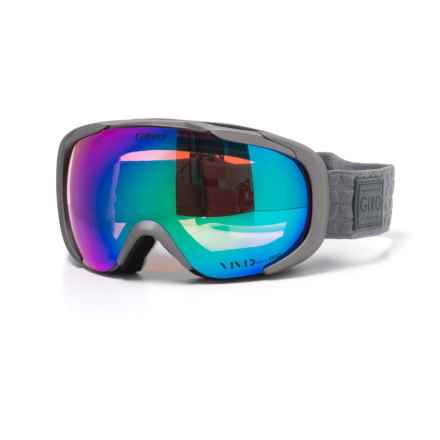 Giro Ski Goggles (For Women) in Titanium Quilted/Vivid Pink - Closeouts