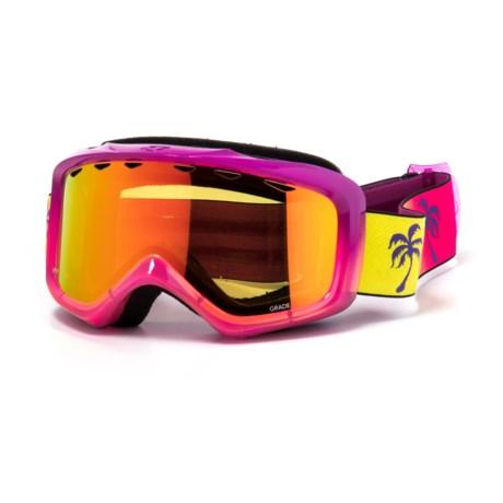 Giro Ski Goggles (For Youth) in Burgendy/Magenta/Plum