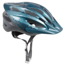 Giro Skyla Bike Helmet (For Women) in Ice Blue/White Flower - Closeouts