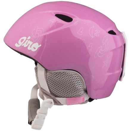 Giro Slingshot Ski Helmet (For Kids and Youth) in Pink Notebook - Closeouts