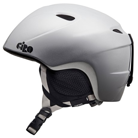 Giro Slingshot Snowsport Helmet (For Kids and Youth) in Silver