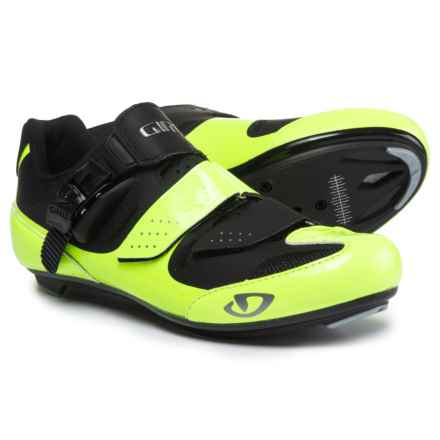 Giro Solara II Road Cycling Shoes - 3-Hole (For Women) in Highlight Yellow/Black - Closeouts