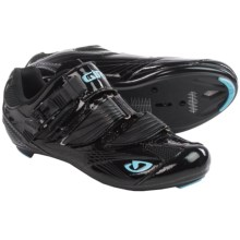 Giro Solara Road Cycling Shoes - 3-Hole (For Women) in Black/Milky Blue - Closeouts