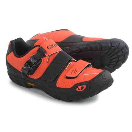 Giro Terraduro Mountain Bike Shoes - SPD (For Men) in Red/Black - Closeouts