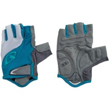 Giro Tessa Bike Gloves - Fingerless (For Women) in Blue Jewel/White - Closeouts