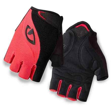 Giro Tessa Bike Gloves - Fingerless (For Women) in Coral/Black - Closeouts