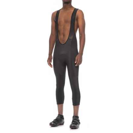 Giro Thermal 3/4 Cycling Bib Tights - Built-In Chamois (For Men) in Jet Black - Closeouts