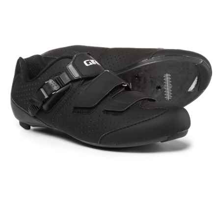 Giro Trans E70 Road Cycling Shoes - 3-Hole (For Men) in Matte Black/Black - Closeouts