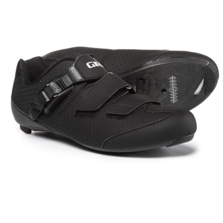 Giro Trans E70 Road Cycling Shoes - 3-Hole (For Men) in Matte Black/Black