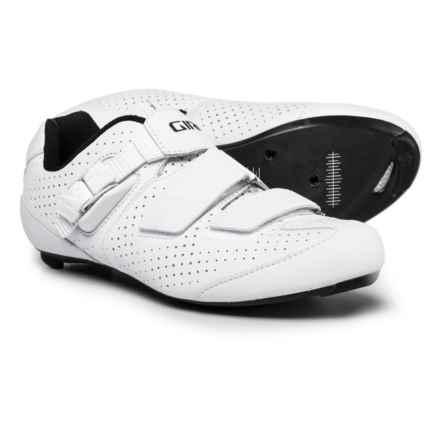 Giro Trans E70 Road Cycling Shoes - 3-Hole (For Men) in Matte White - Closeouts